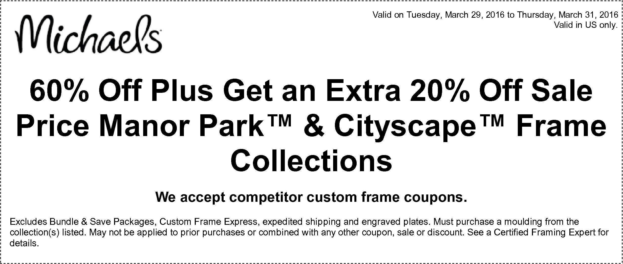 Michaels custom framing coupon 60 off - Ea origin coupon