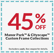 45 off manor park cityscape custom frame collections