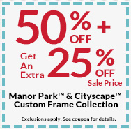50 off plus get an extra 25 off sale price manor park